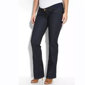 J Brand Mama J Dark Wash Maternity Jeans Straight